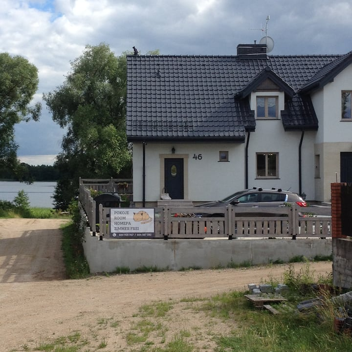 Dom nad jeziorem Czarne
