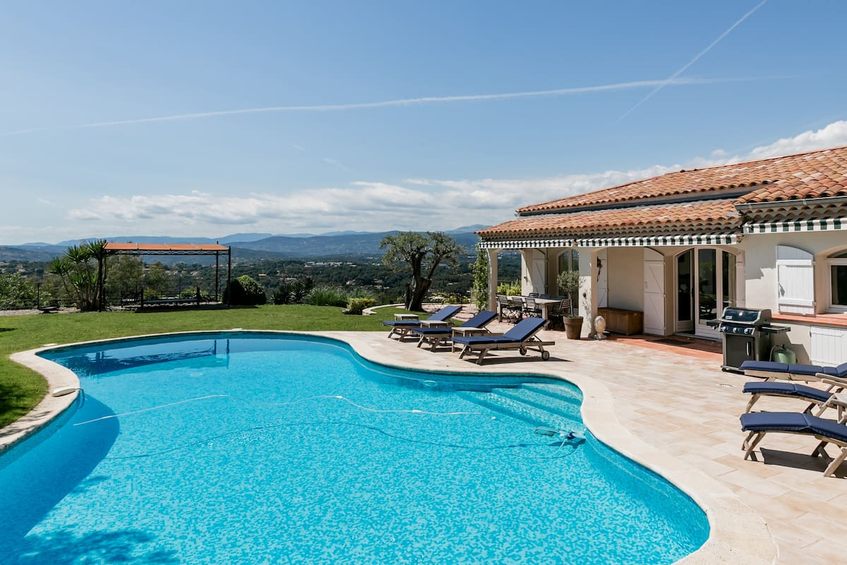 Tranquil Secluded Villa, Full Privacy, Spectacular Views