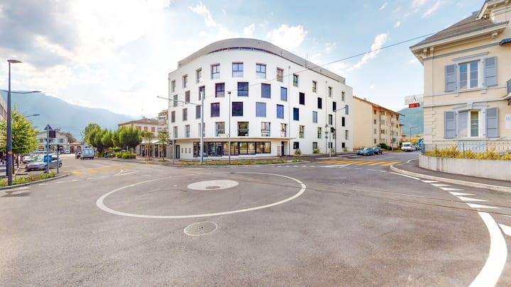 Furnished Studio #003 - Swiss Resort Aigle