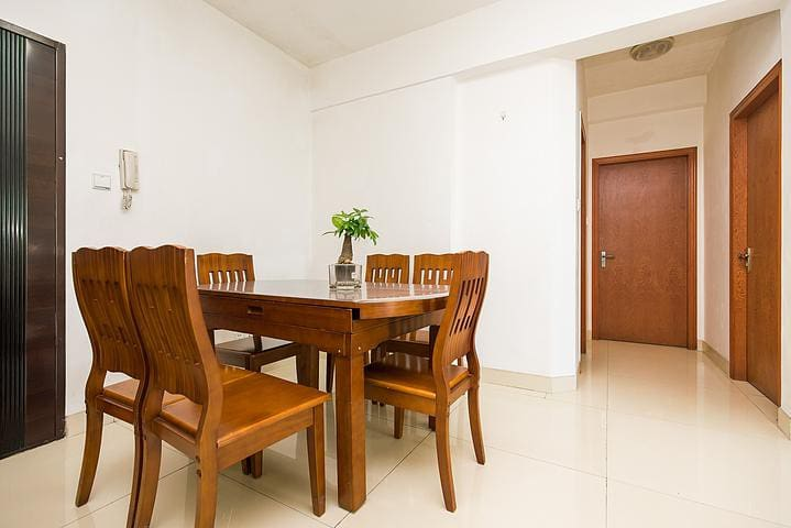 Next to Metro Exit, CBD Flat 22, Sunny Quiet Clean - Fuzhou Shi - Appartement