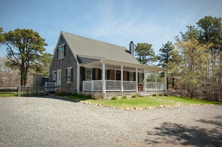 Renovated picture perfect cape home on private lot
