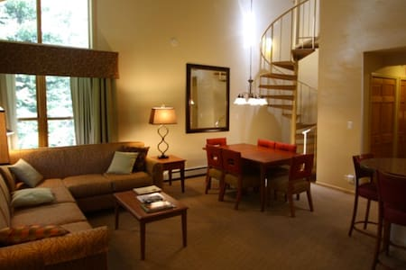 Ski, board, shop, eat and relax at Vail! - Vail - Timeshare (propriedade compartilhada)