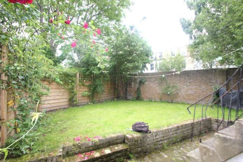 Back garden in Springtime (slightly less Green now it's winter!)