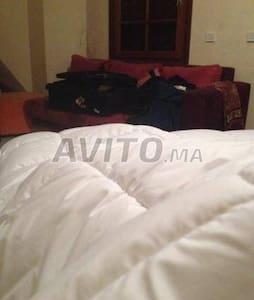 Appartement avec chambre privée à Mohammédia - Tétouan - Huoneisto