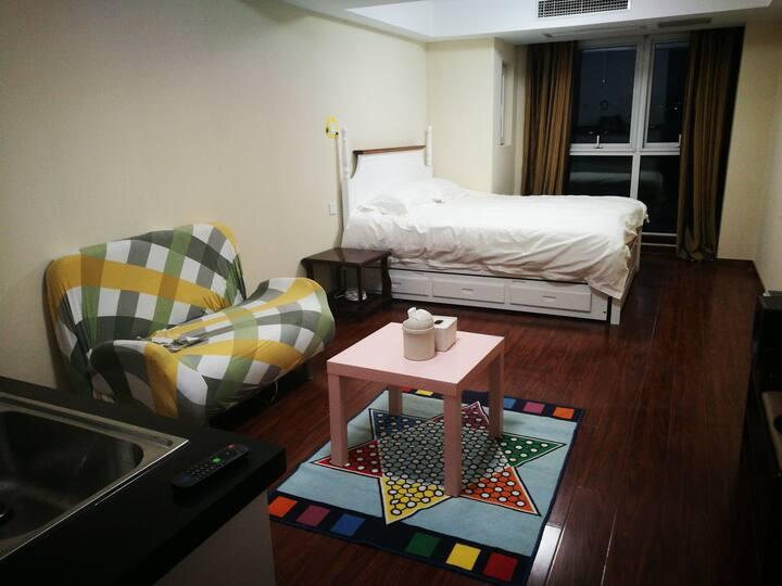 昌平临万科近石油政法的独立公寓三床可住六人