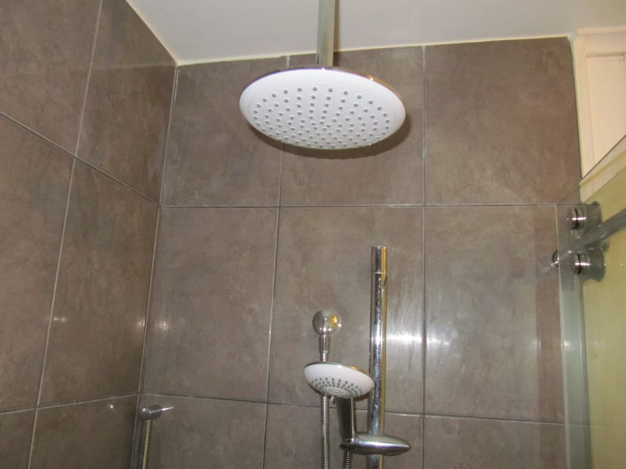 Shower has Rain shower and side shower