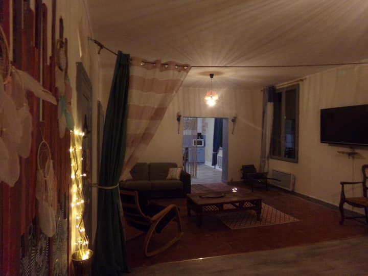 Appartement Bord de Loire 1er étage