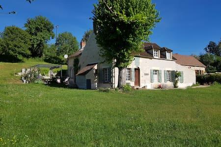 Les Pleurotes,  sympathique ferme  proche Vezelay.