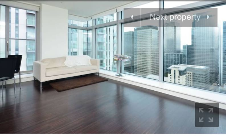 36th floor stunning view of canary wharf - Londyn - Apartament