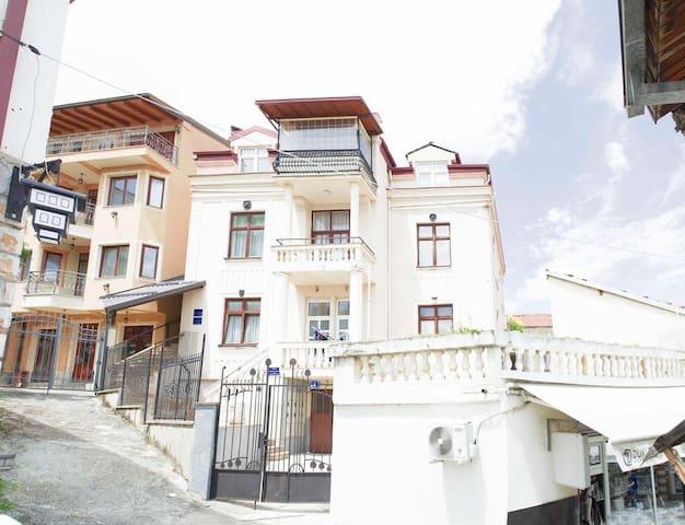 Villa SARAGA next to the main square
