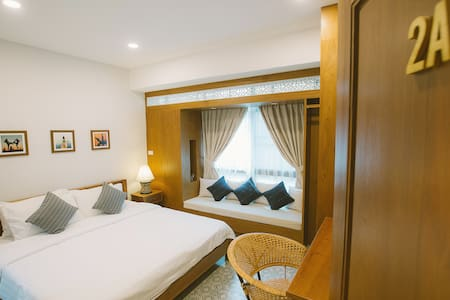2A peaceful bedroom near old city + free breakfast - Muang