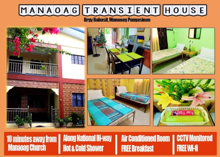 Manaoag Transient House (Room 2)