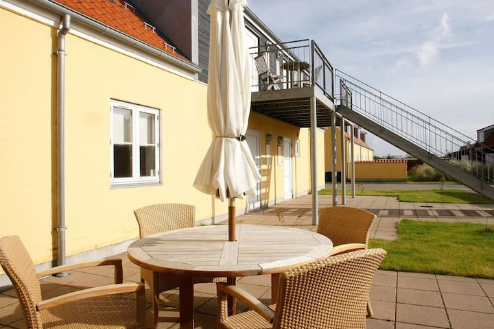 2 person holiday home on a holiday park in Skagen