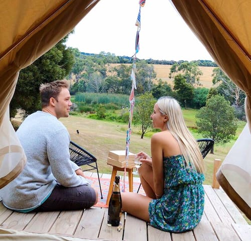 Fancy Tent - Glamping Getaway at Iluka Retreat