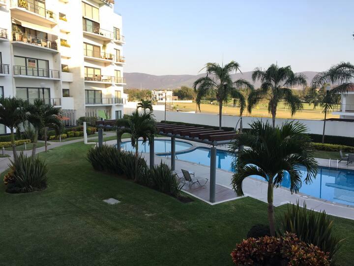 Depa Paraiso Country Club Cuernavaca  3 recamaras