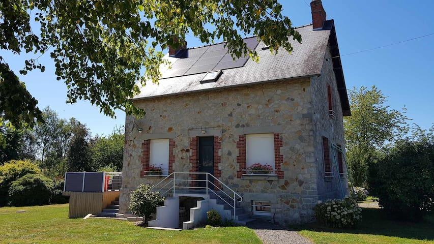 Maison dans le bocage Normand