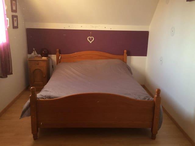 Chambre cosy au calme - Poulainville - Haus
