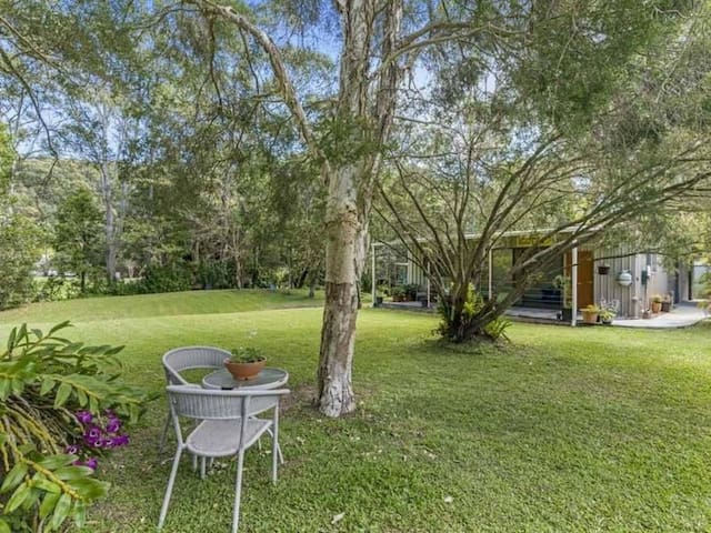 Tranquil cabin in Gold Coast hinterland - Tallebudgera Valley - Chalet