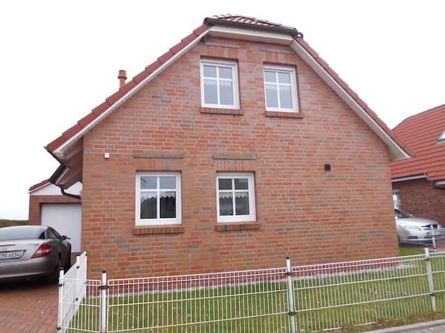 Ferienhaus Mühlenblick - Friesenhaus am Meer - Dornum - Huis