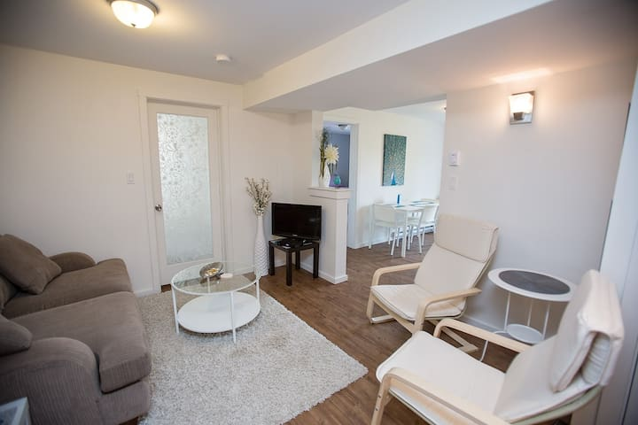 Adorable Suite on a Quiet Street - Nelson - Appartement