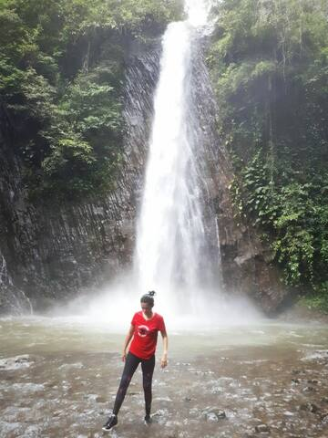 Ureng Waterfall (in Ambon)  Located on the north side of the island.
