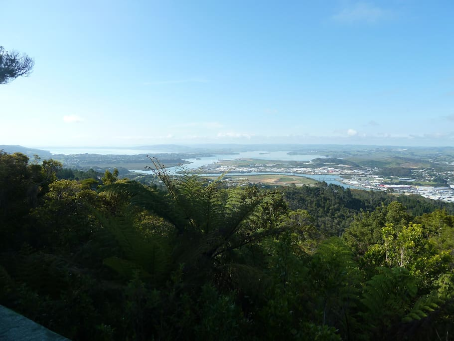 View from Mt Parahaki lookout