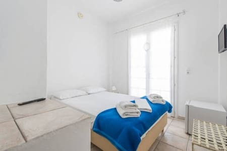 Double room with pool+breakfast - THIRA