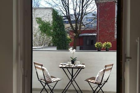 Helles Apartment mit Balkon in TOP Lage Schwabing - Мюнхен - Квартира