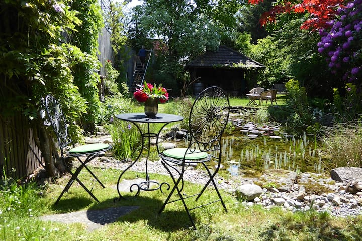 Gemütliches Zimmer Nähe Aarau mit Garten