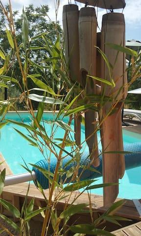 La Maison du Verdon et sa piscine chauffée