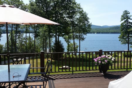 Newfound Lake Waterfront Home - Bridgewater
