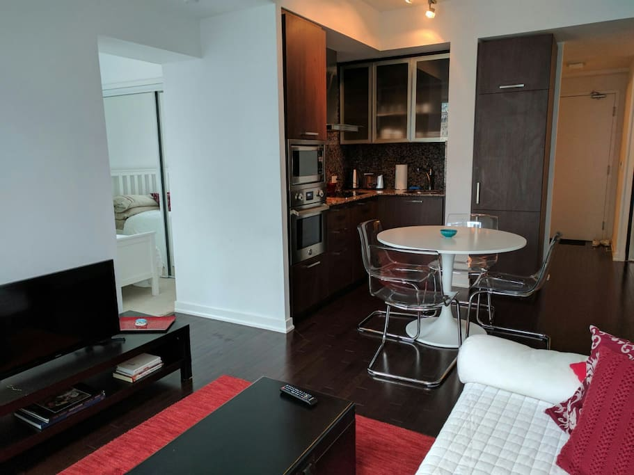 Downtown Toronto Luxury Condo One Bedroom Lounge Apartments For Rent In Toronto Ontario Canada