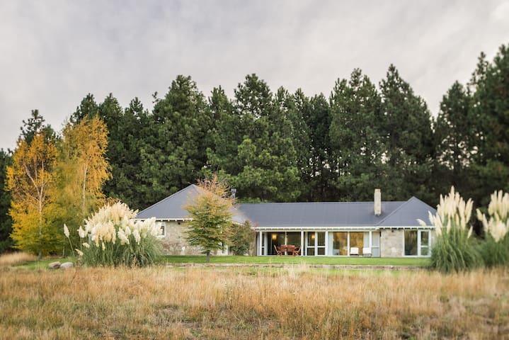 La casa más práctica y linda del Chapelco Golf.