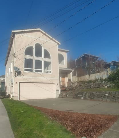 Built in 2002. Beautiful Home with Tons of light and off street parking..