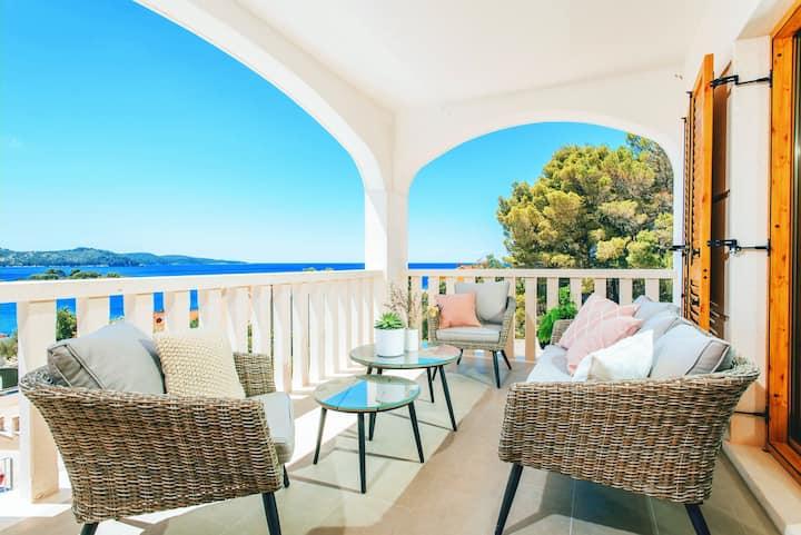 Villa ABBA, appartment II -Bruno, 80m from sea