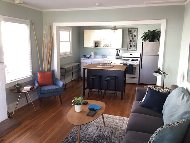 Mid-century Modern Downtown Bungalow