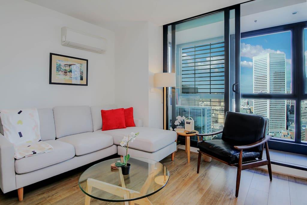 Melbourne Modern 3 Bedroom Apartment 2801suth