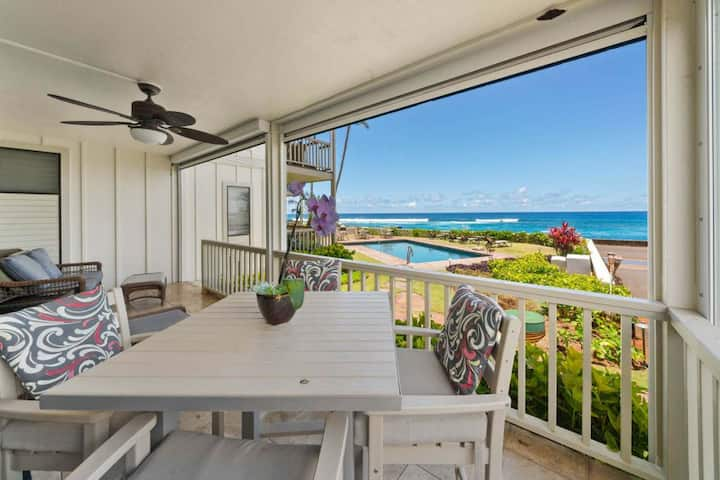 Luxurious Ocean Front Condo with Athletic Club