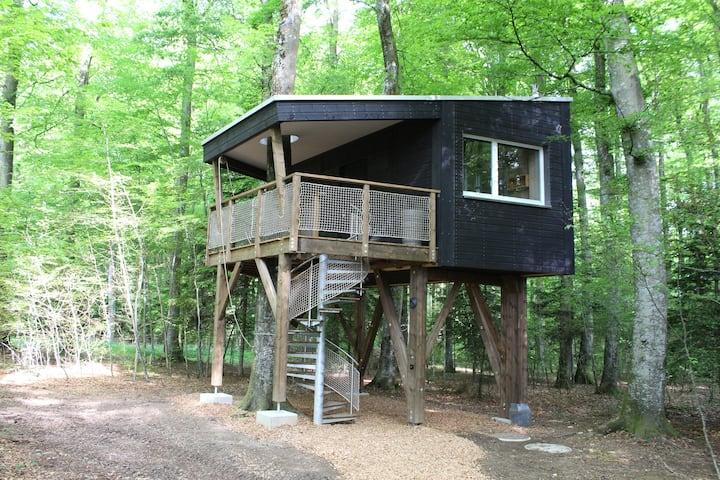 Les Cabanes du Mont, (Coeuve), Les Cabanes du Mont - Cabin n° 3 Aventure, (Coeuve), 1-4 pers., 1 room