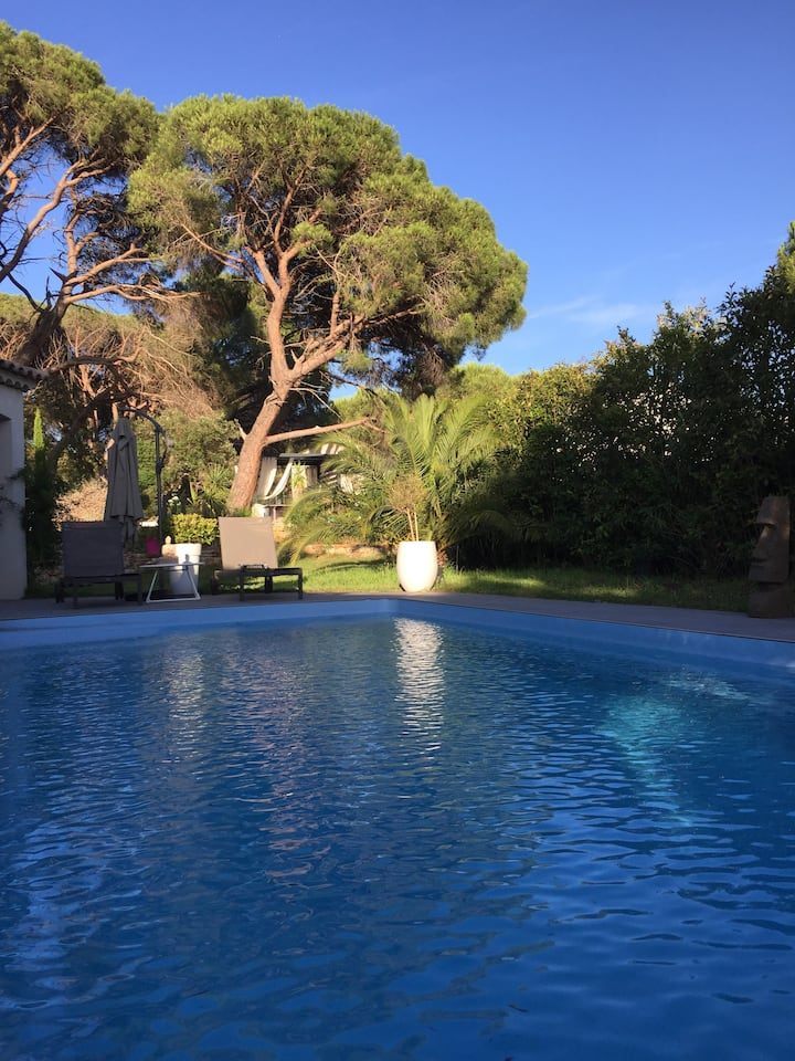 villa de luxe dans le golfe de saint tropez