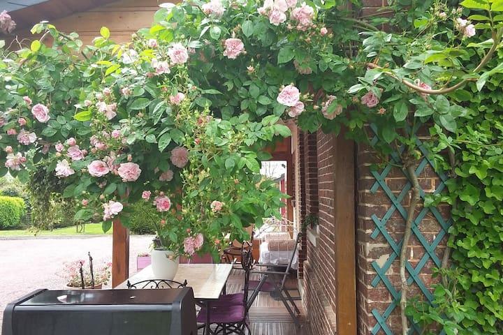 Petit cottage  avec jardin