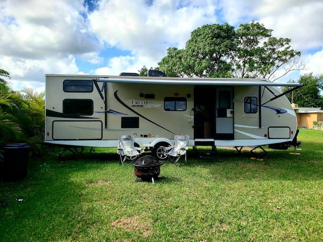 Camping Experience in Comfort of a Home