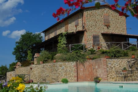 Appartamento in Umbria per 4/5 persone - Paciano