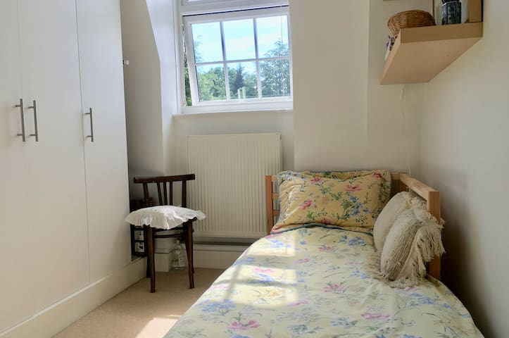 Bedroom 3 - single with plenty of hanging space