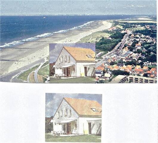Holland, Breskens, rustig vakantiehuis bij zee