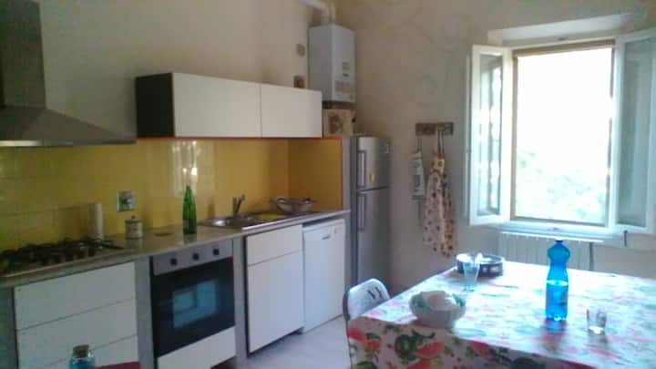 2 camere, cucina e bagno