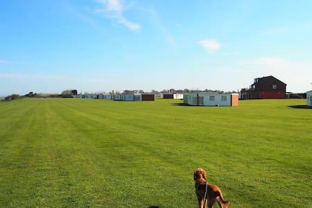 Dog Friendly Beach Holiday in Winteron-on-Sea - Winterton-on-Sea - Almhütte