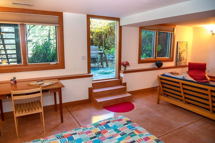 Large Garden Studio in Potrero Hill, San Francisco