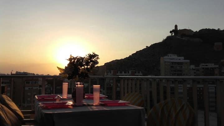 Near S. Antonio's beach splendid view 3 terraces