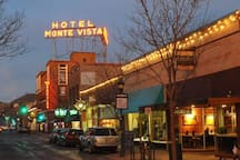 Walk to Hiistoric Downtown Flagstaff